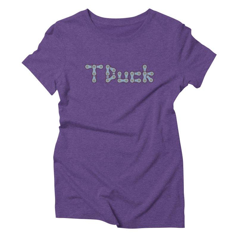 TDuck Women's Triblend T-Shirt by NOLA 'Nacular's Shop