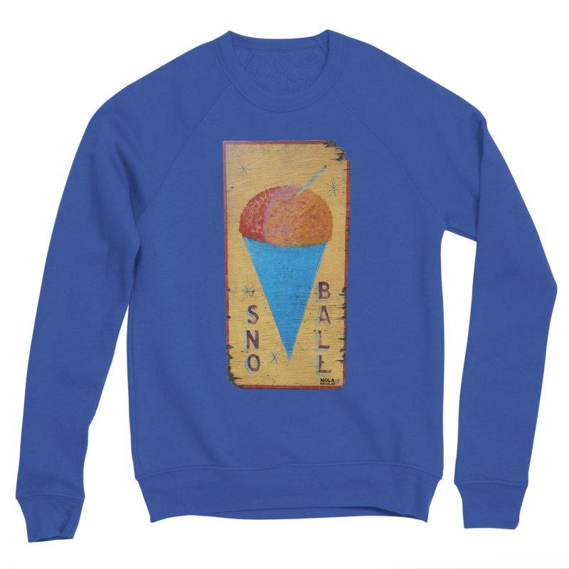 Sno Ball hand-painted sign Women's Sponge Fleece Sweatshirt by NOLA 'Nacular's Shop