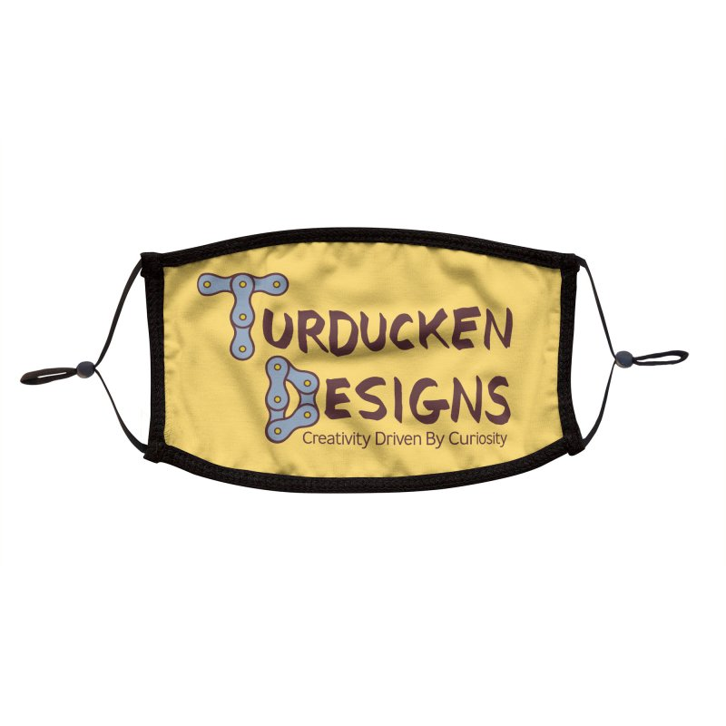 Turducken Designs Accessories Face Mask by NOLA 'Nacular's Shop