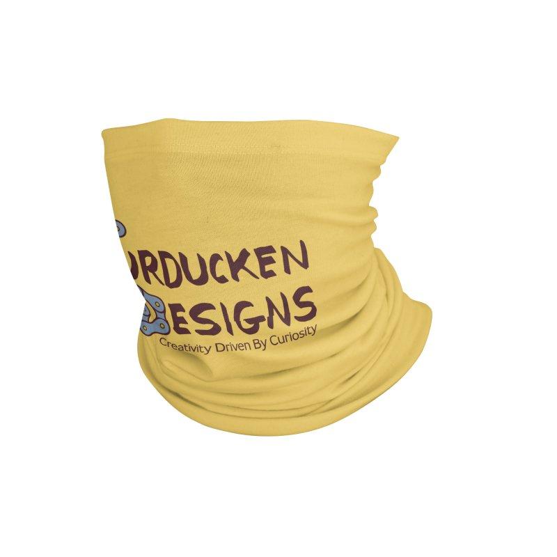 Turducken Designs Accessories Neck Gaiter by NOLA 'Nacular's Shop