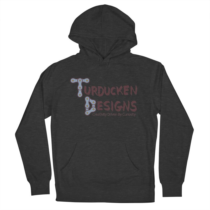 Turducken Designs Men's French Terry Pullover Hoody by NOLA 'Nacular's Shop