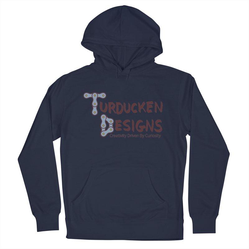 Turducken Designs Men's French Terry Pullover Hoody by NOLA 'Nacular's Shop