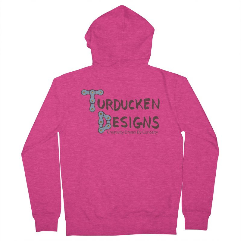 Turducken Designs Women's French Terry Zip-Up Hoody by NOLA 'Nacular's Shop