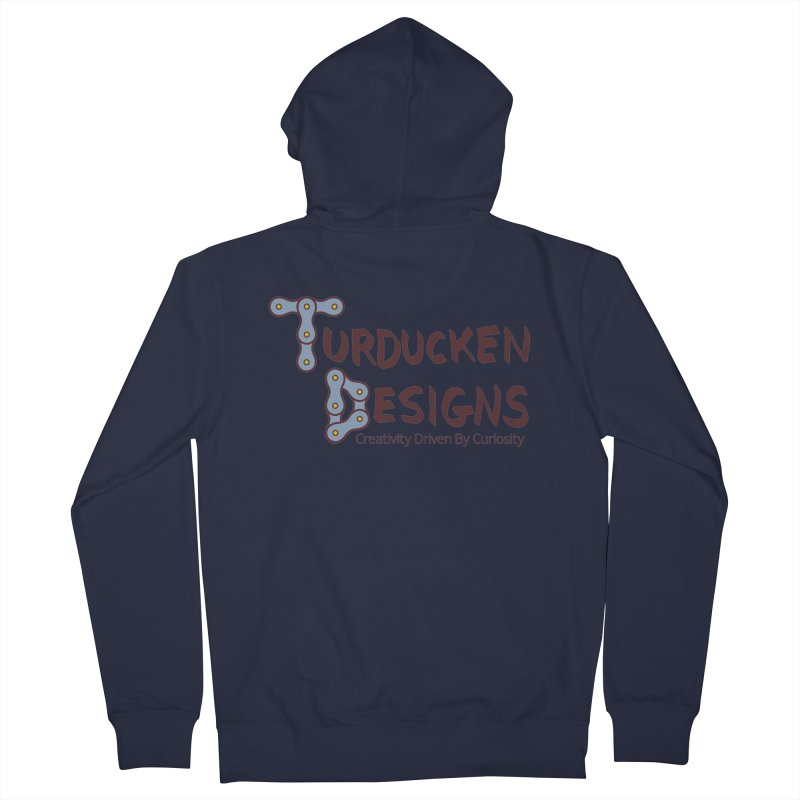 Turducken Designs Women's French Terry Zip-Up Hoody by NOLA 'Nacular's Shop
