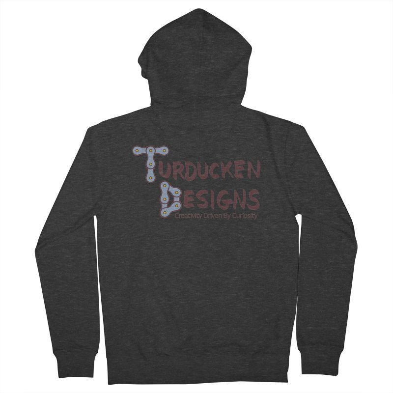 Turducken Designs Men's French Terry Zip-Up Hoody by NOLA 'Nacular's Shop