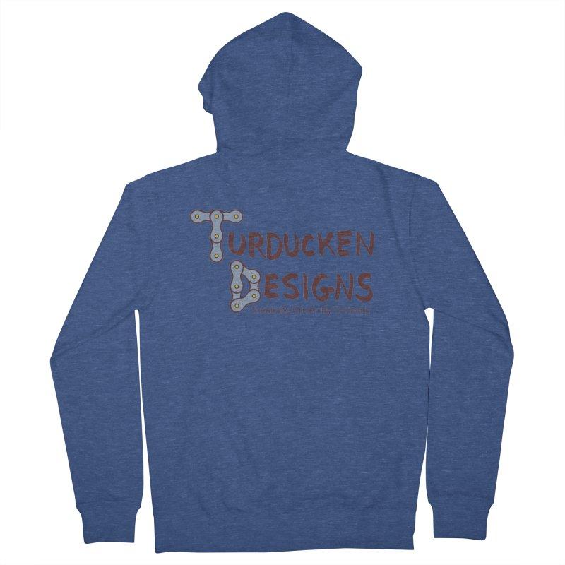 Turducken Designs Men's French Terry Zip-Up Hoody by NOLA 'Nacular's Shop