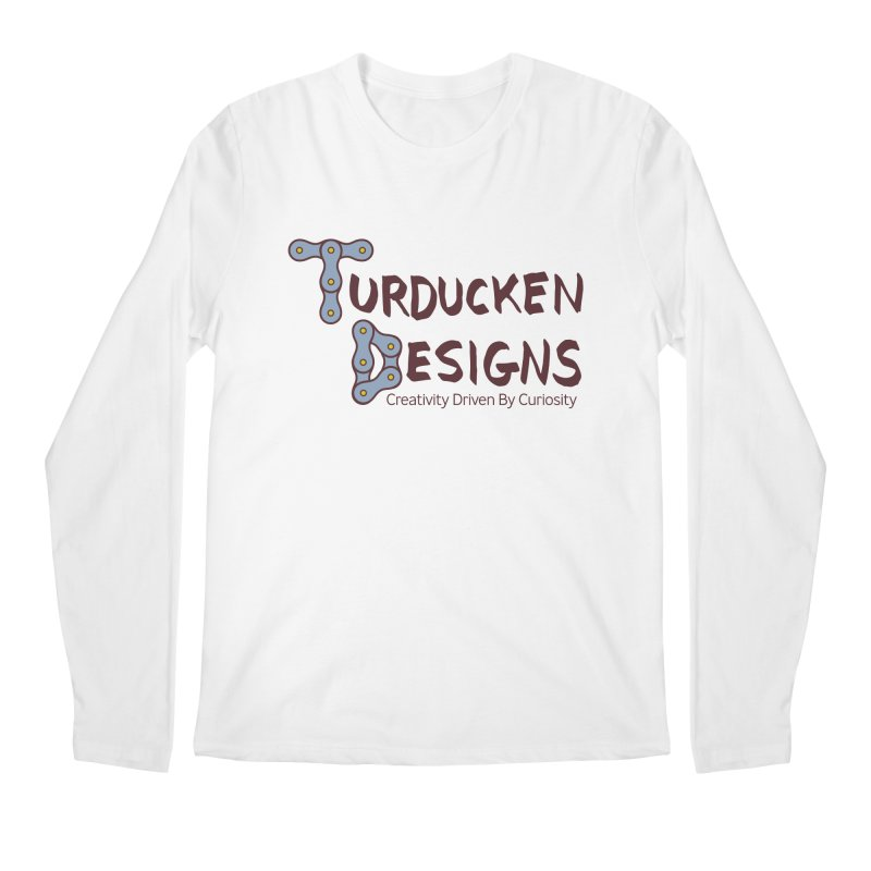 Turducken Designs Men's Regular Longsleeve T-Shirt by NOLA 'Nacular's Shop