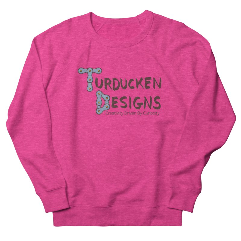 Turducken Designs Men's French Terry Sweatshirt by NOLA 'Nacular's Shop