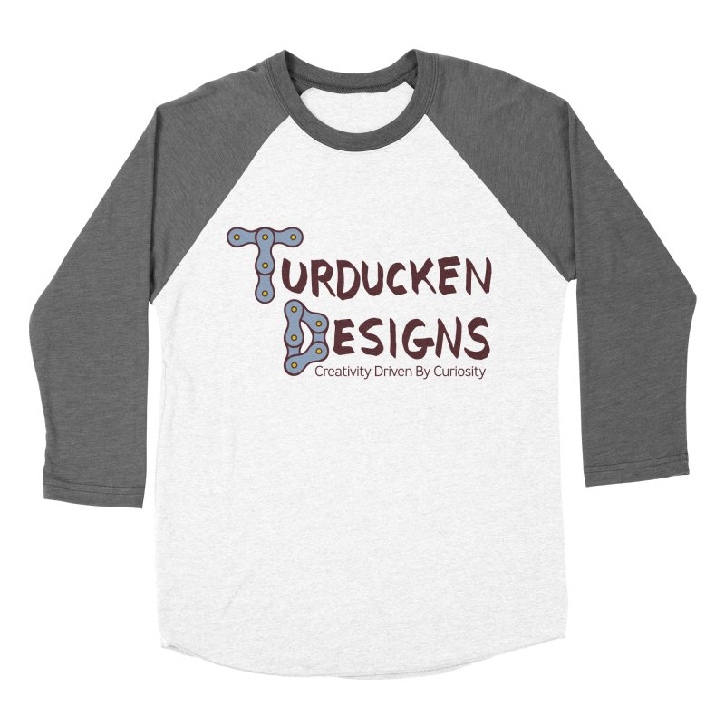 Turducken Designs Women's Baseball Triblend Longsleeve T-Shirt by NOLA 'Nacular's Shop
