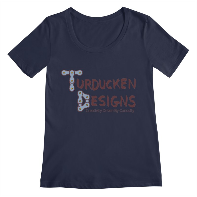 Turducken Designs Women's Regular Scoop Neck by NOLA 'Nacular's Shop
