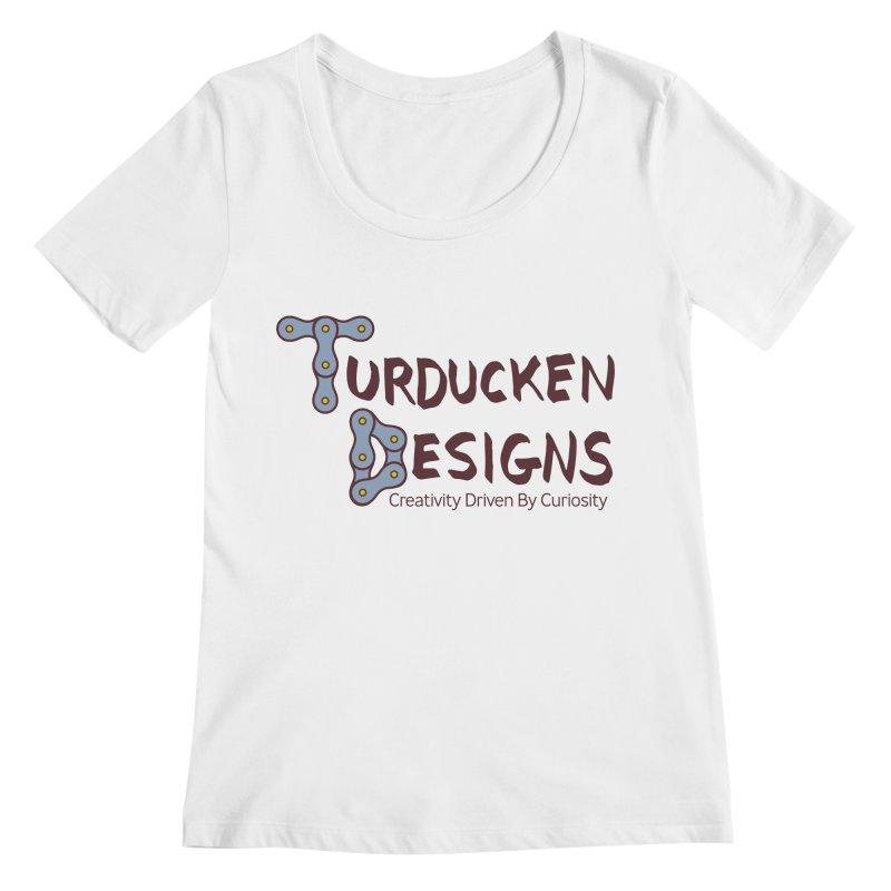 Turducken Designs Women's Regular Scoop Neck by NOLA 'Nacular's Shop
