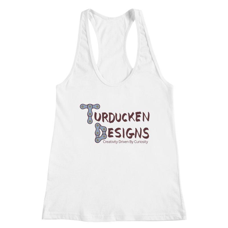 Turducken Designs Women's Racerback Tank by NOLA 'Nacular's Shop