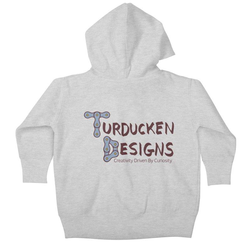 Turducken Designs Kids Baby Zip-Up Hoody by NOLA 'Nacular's Shop