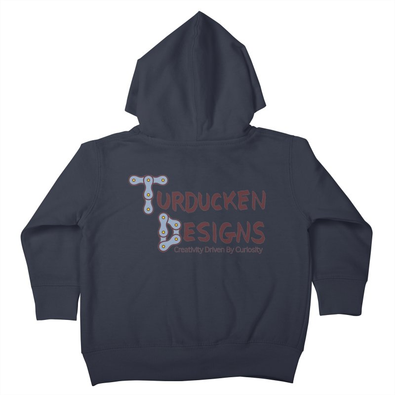 Turducken Designs Kids Toddler Zip-Up Hoody by NOLA 'Nacular's Shop