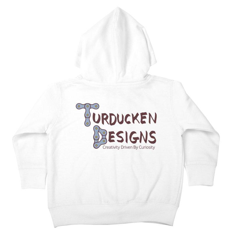 Turducken Designs Kids Toddler Zip-Up Hoody by NOLA 'Nacular's Shop