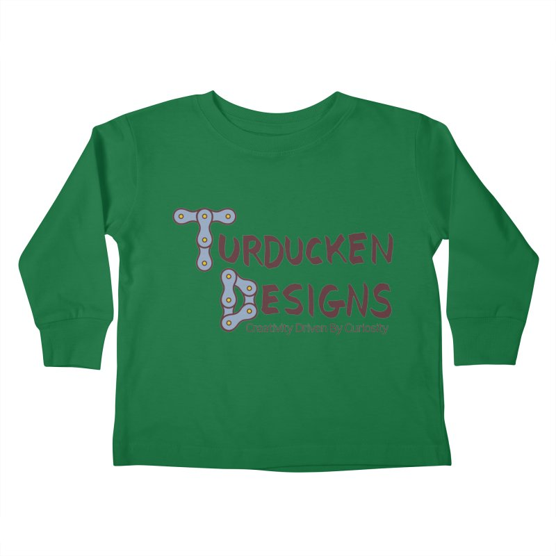 Turducken Designs Kids Toddler Longsleeve T-Shirt by NOLA 'Nacular's Shop