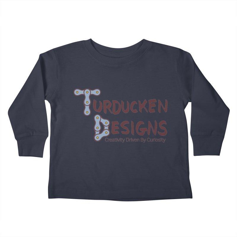 Turducken Designs Kids Toddler Longsleeve T-Shirt by NOLA 'Nacular's Shop
