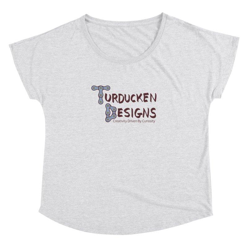 Turducken Designs Women's Dolman Scoop Neck by NOLA 'Nacular's Shop