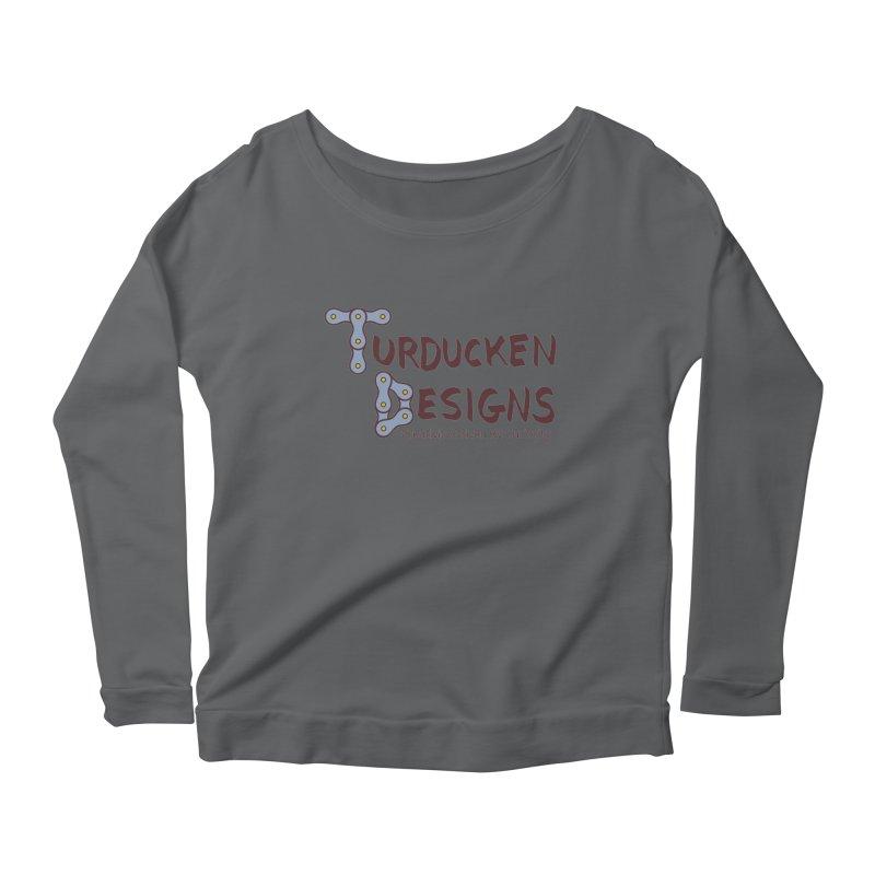 Turducken Designs Women's Scoop Neck Longsleeve T-Shirt by NOLA 'Nacular's Shop