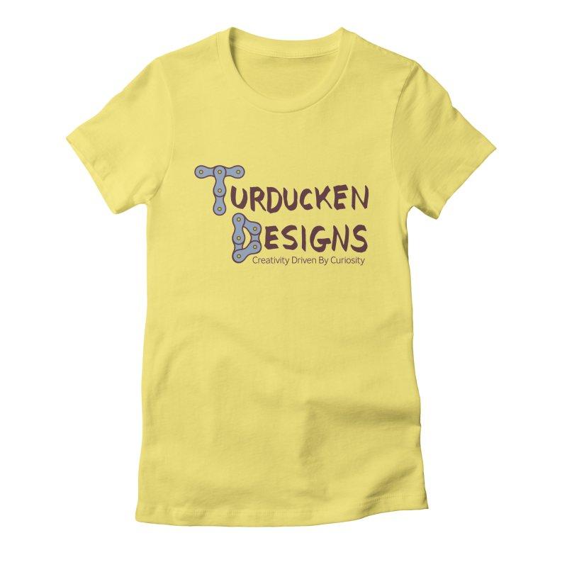 Turducken Designs Women's Fitted T-Shirt by NOLA 'Nacular's Shop
