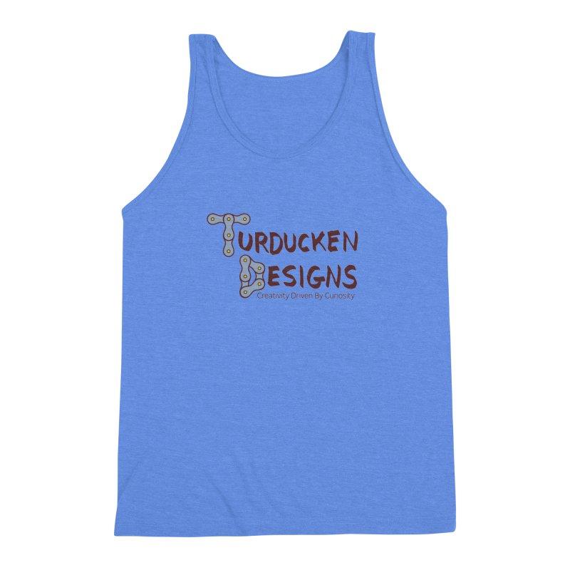 Turducken Designs Men's Triblend Tank by NOLA 'Nacular's Shop