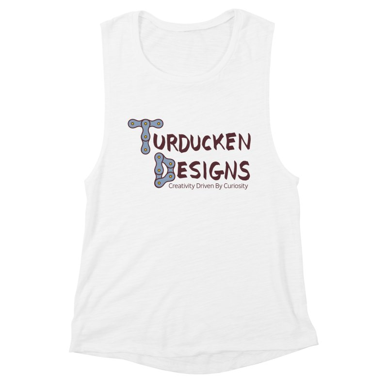 Turducken Designs Women's Muscle Tank by NOLA 'Nacular's Shop
