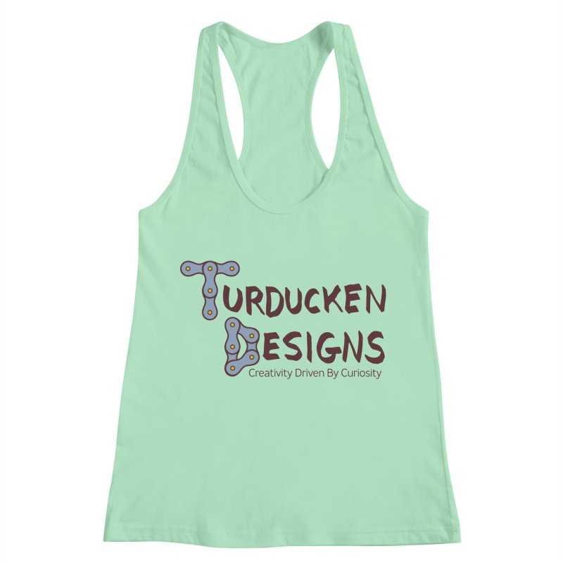 Turducken Designs Women's Racerback Tank by NOLA 'Nacular's Shop