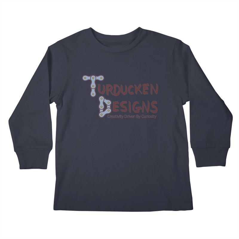 Turducken Designs Kids Longsleeve T-Shirt by NOLA 'Nacular's Shop