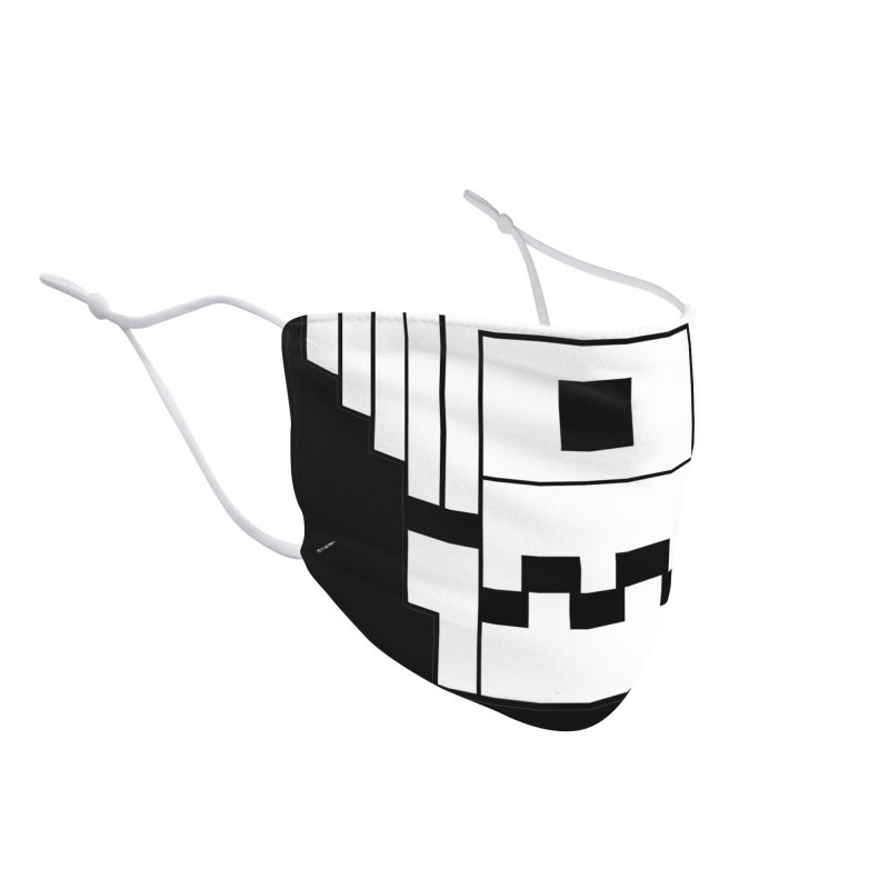 8 Bit Skull Accessories Face Mask by NOLA 'Nacular's Shop