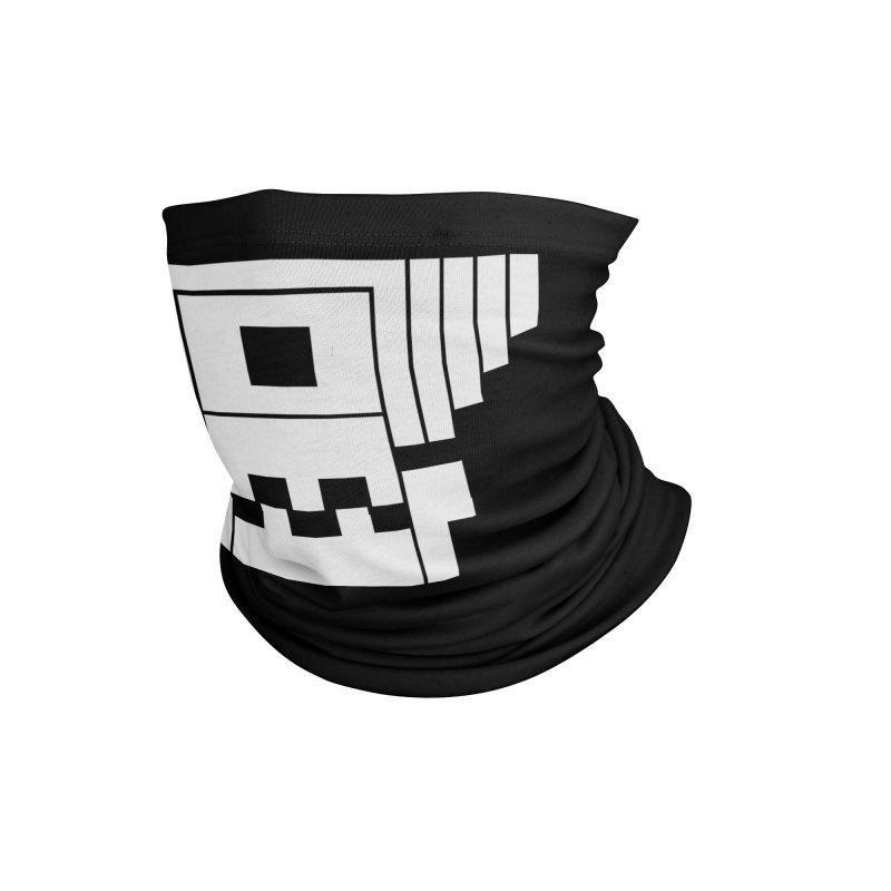8 Bit Skull Accessories Neck Gaiter by NOLA 'Nacular's Shop