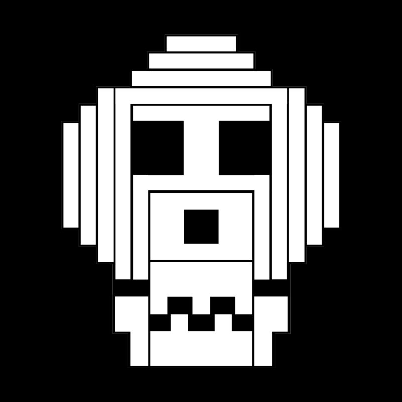 8 Bit Skull by NOLA 'Nacular's Shop