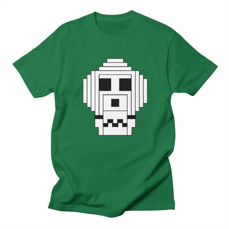 8 Bit Skull Women's Regular Unisex T-Shirt by NOLA 'Nacular's Shop
