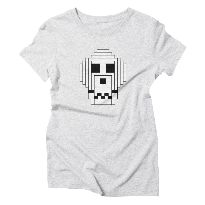 8 Bit Skull Women's T-Shirt by NOLA 'Nacular's Shop