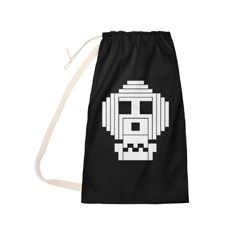 8 Bit Skull Accessories Bag by NOLA 'Nacular's Shop