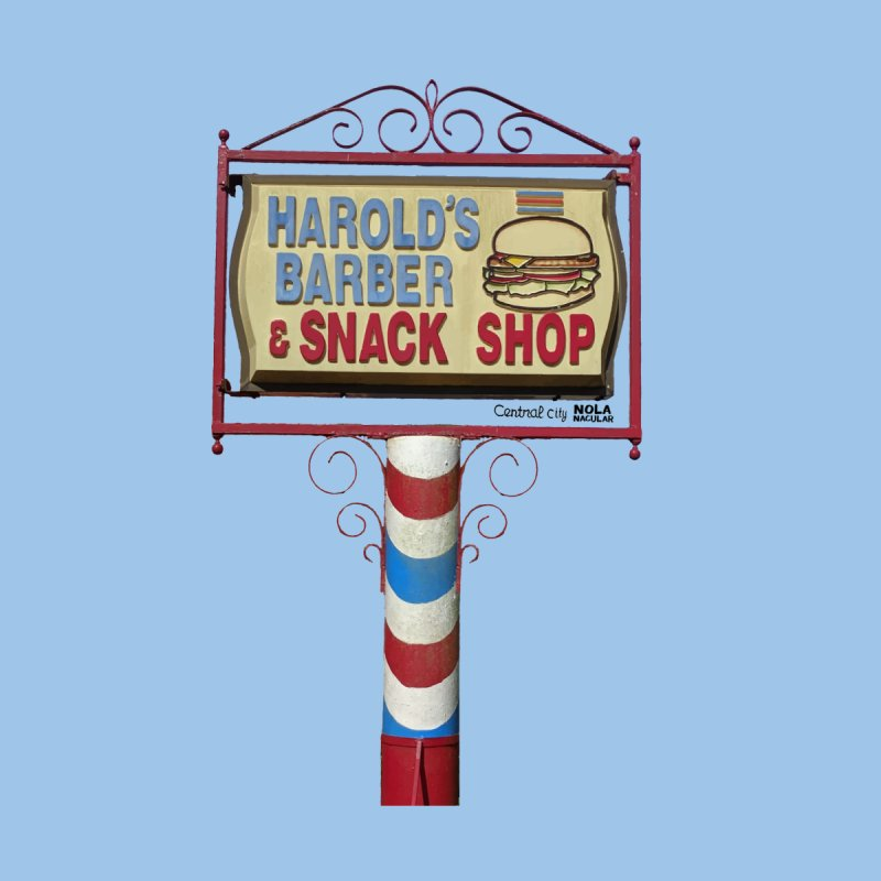Harold's Barber and Snack Shop sign by NOLA 'Nacular's Shop