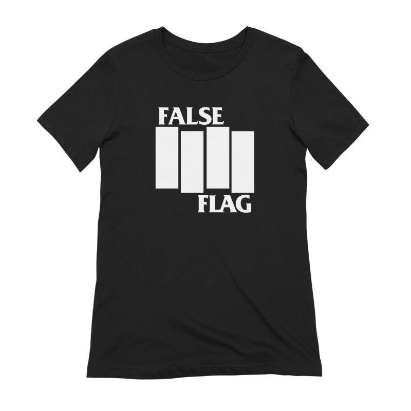 FALSE FLAG Women's Extra Soft T-Shirt by NOLA 'Nacular's Shop
