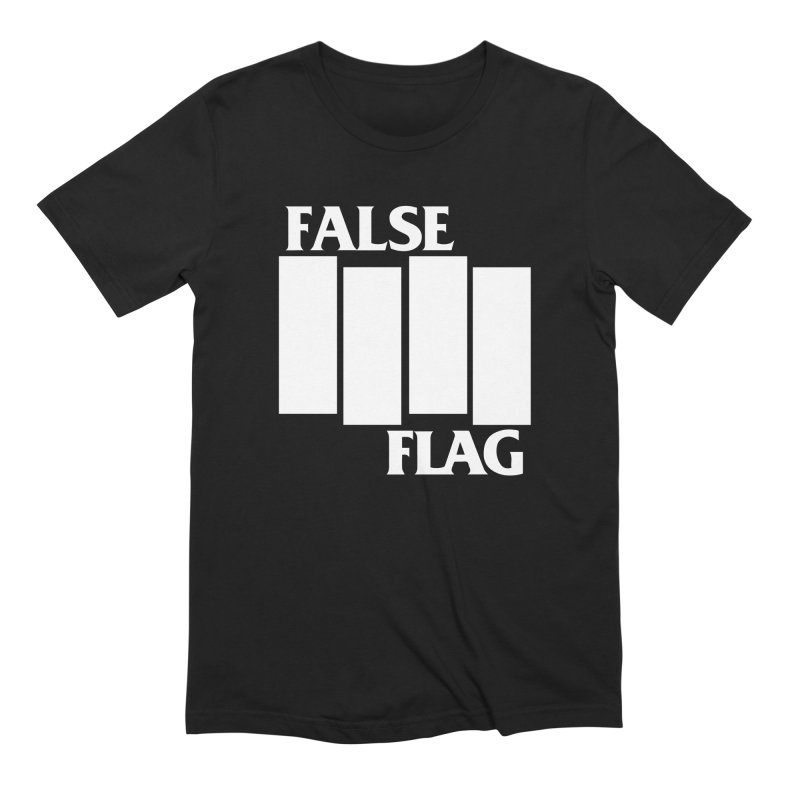 FALSE FLAG Men's Extra Soft T-Shirt by NOLA 'Nacular's Shop