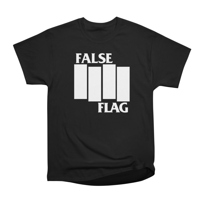 FALSE FLAG Women's Heavyweight Unisex T-Shirt by NOLA 'Nacular's Shop