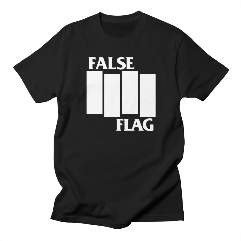FALSE FLAG Women's Regular Unisex T-Shirt by NOLA 'Nacular's Shop