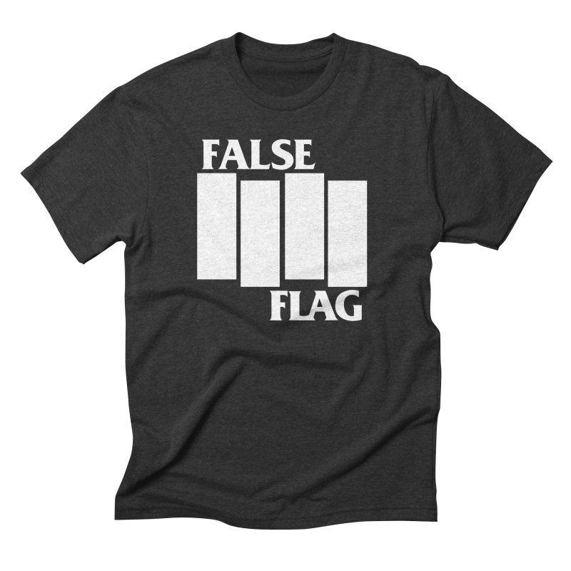 FALSE FLAG Men's Triblend T-Shirt by NOLA 'Nacular's Shop