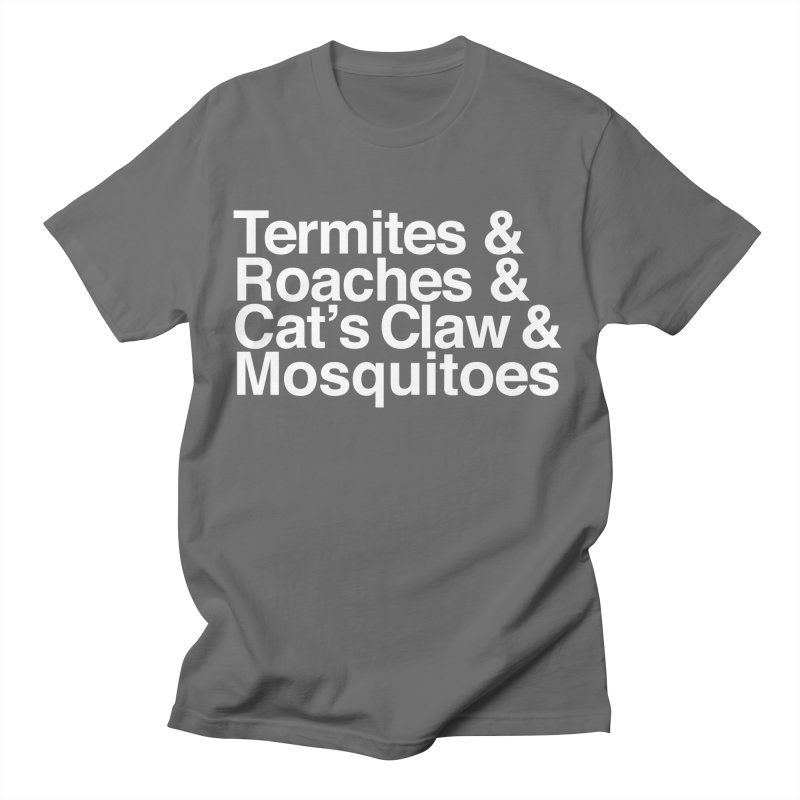 Pest and Invaders (white print) Loose Fit T-Shirt by NOLA 'Nacular's Shop