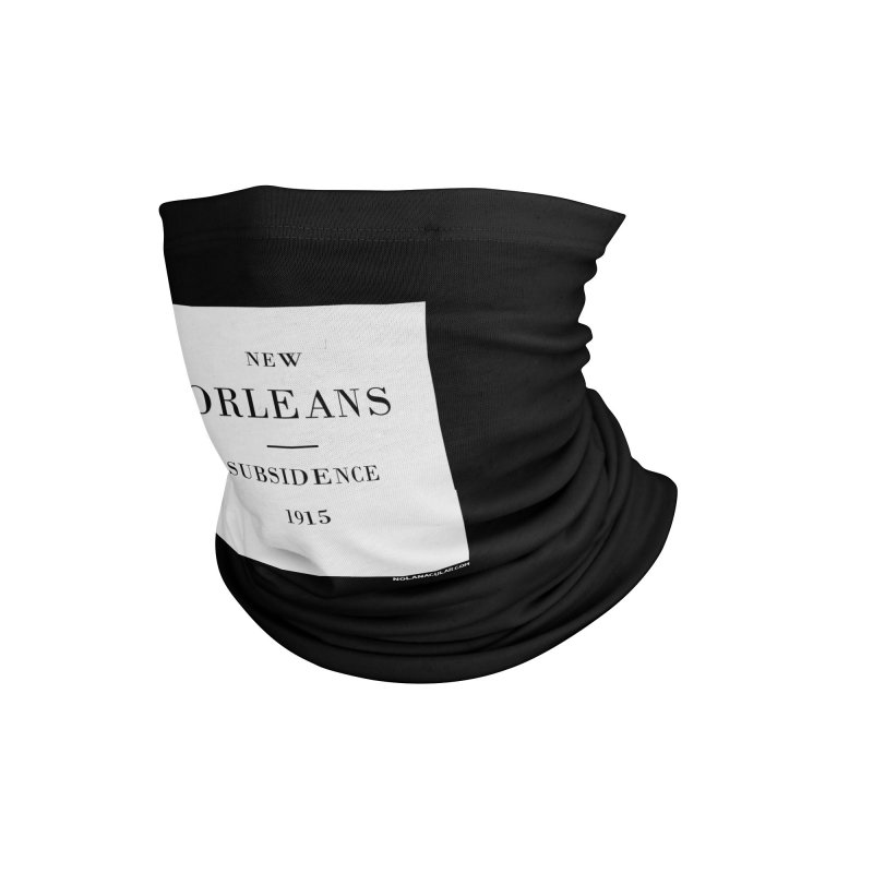 New Orleans - Subsidence Accessories Neck Gaiter by NOLA 'Nacular's Shop