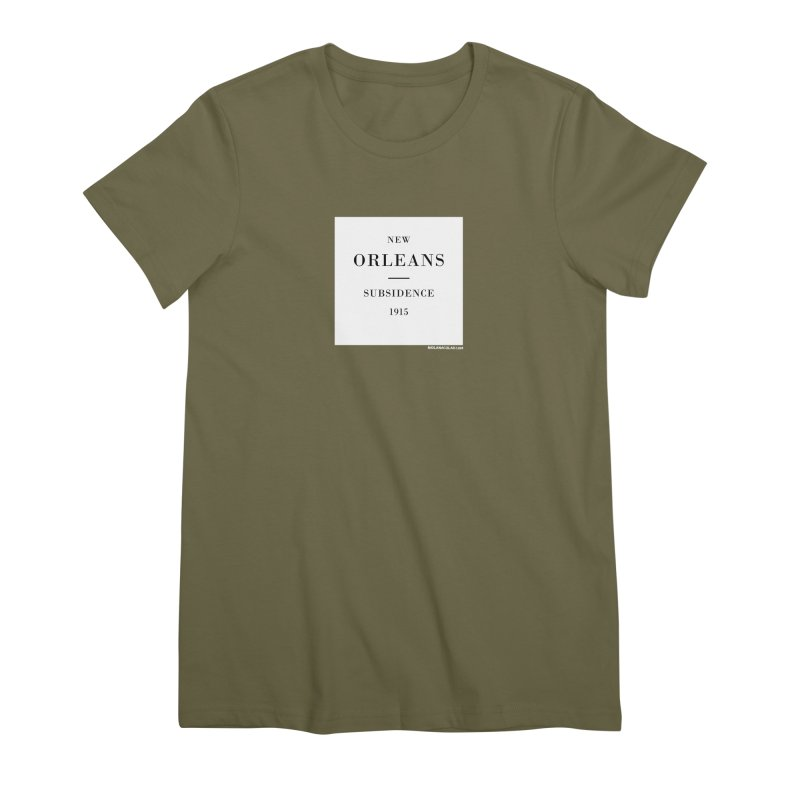New Orleans - Subsidence Women's Premium T-Shirt by NOLA 'Nacular's Shop