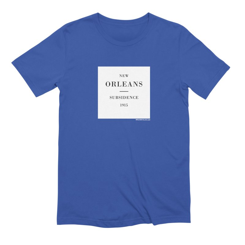 New Orleans - Subsidence Men's Extra Soft T-Shirt by NOLA 'Nacular's Shop