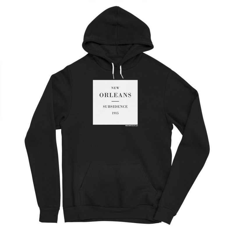 New Orleans - Subsidence Men's Sponge Fleece Pullover Hoody by NOLA 'Nacular's Shop