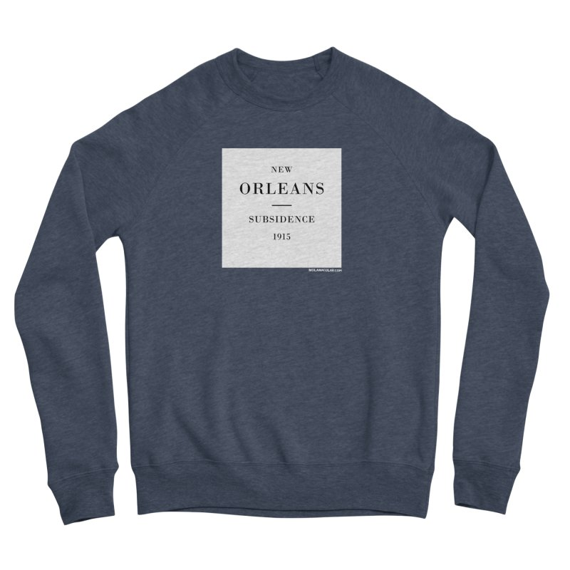 New Orleans - Subsidence Men's Sponge Fleece Sweatshirt by NOLA 'Nacular's Shop