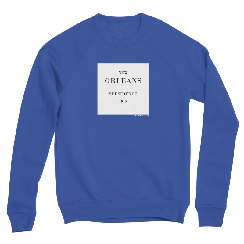 New Orleans - Subsidence Loose Fit Sweatshirt by NOLA 'Nacular's Shop