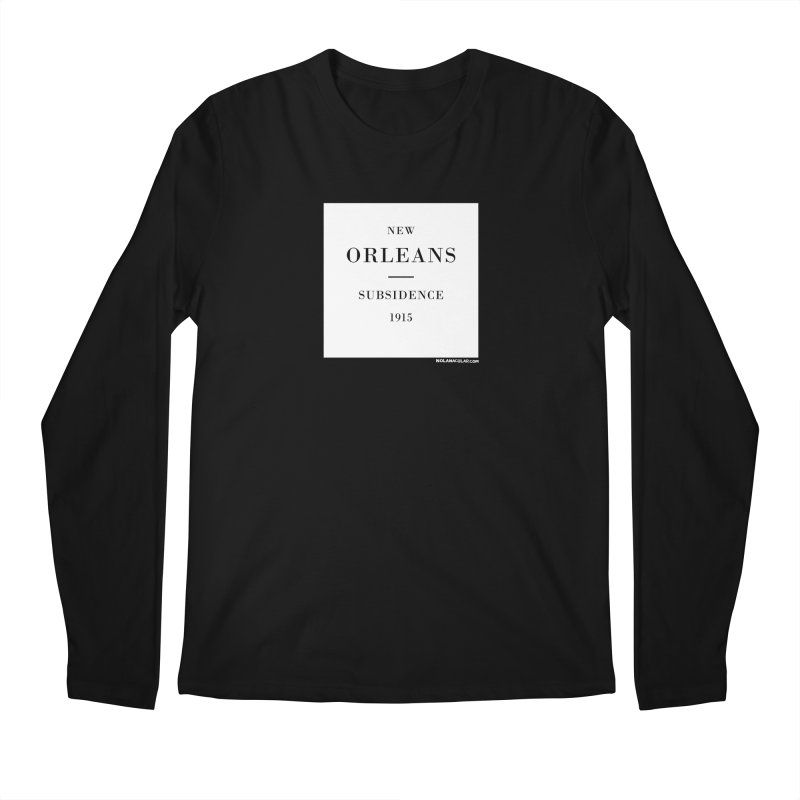 New Orleans - Subsidence Men's Regular Longsleeve T-Shirt by NOLA 'Nacular's Shop
