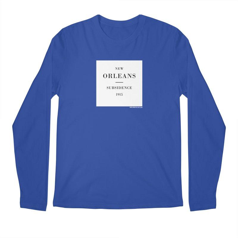New Orleans - Subsidence Men's Regular Longsleeve T-Shirt by NOLA 'Nacular's Shop