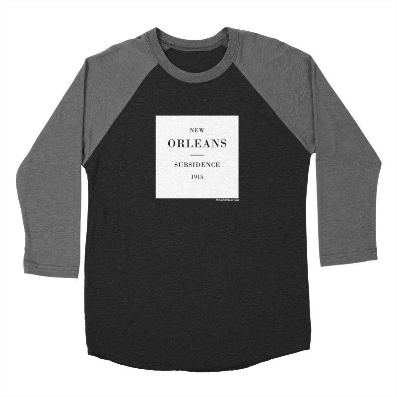 New Orleans - Subsidence Women's Baseball Triblend Longsleeve T-Shirt by NOLA 'Nacular's Shop